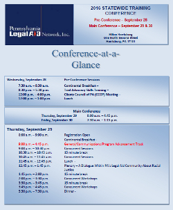 Conference-at-a-Glance