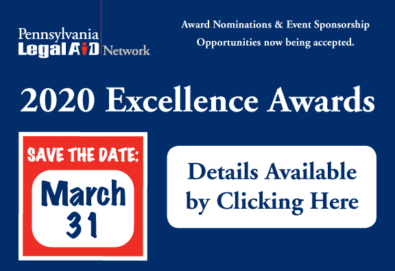 Save the Date - 2020 Excellence Awards: March 31, 2020