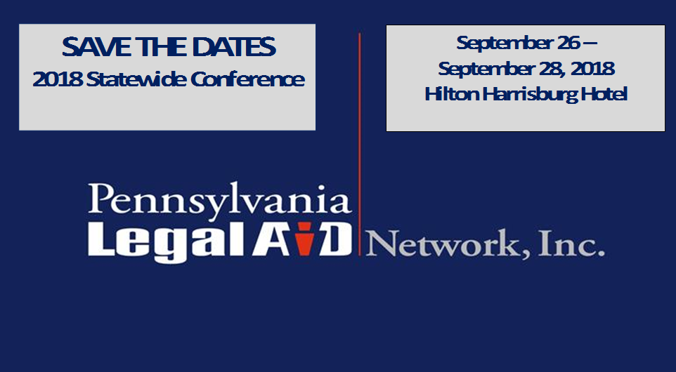 Save The Date - 2018 PLAN Conference